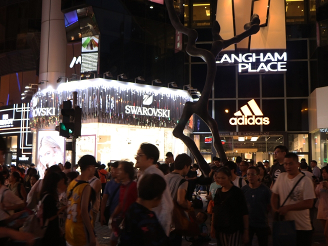 The Old Mong Kok Market: Ghost Building in the Crowd