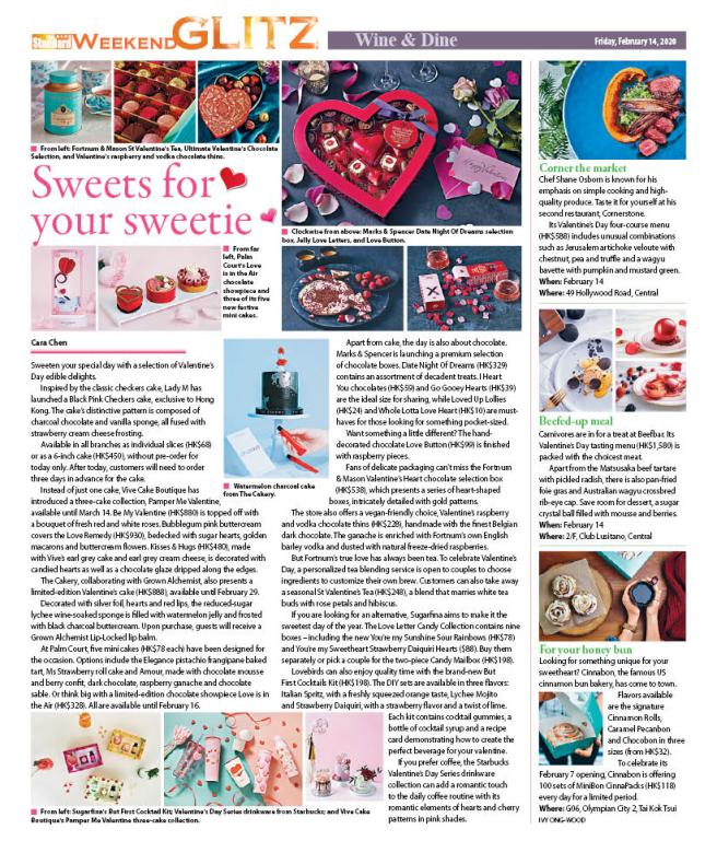Sweets for your sweetie