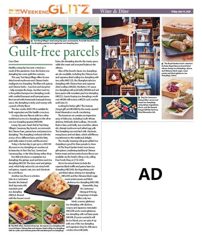 200619 Guilt-free parcels